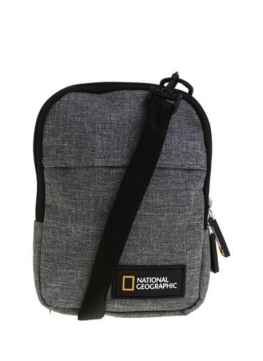National Geographic Postacı Çantası Füme